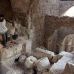 Arqueólogos descubren puerta de ingreso al palacio del rey Herodes