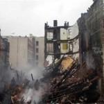 escombros de edificio