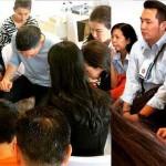 familias pasajeros air asia